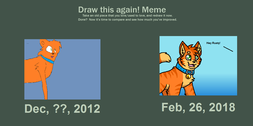 7 years of drawing