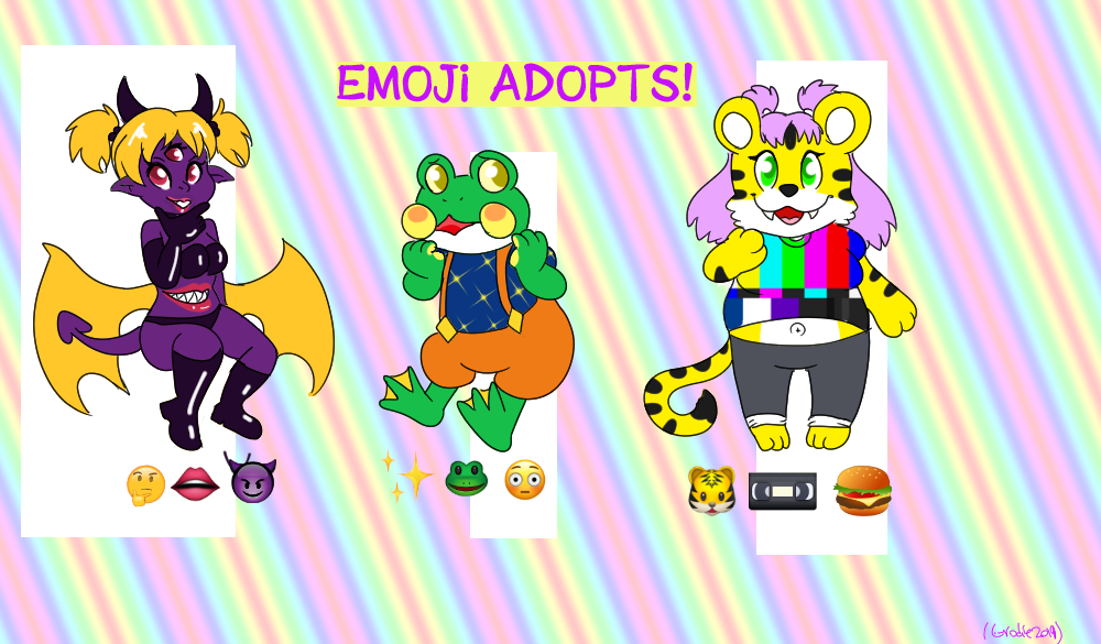 Most recent image: Emoji Adopts