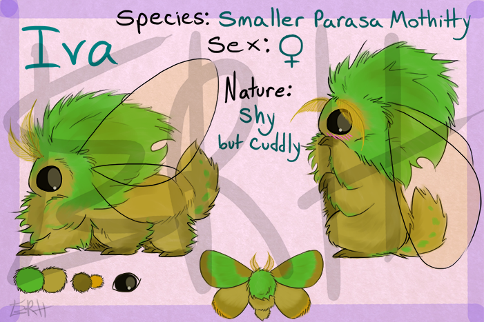 Smaller Parasa Mothitty [com]