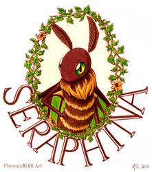 Seraphina Portrait Badge