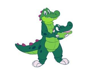 Croc as Croc