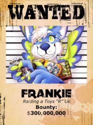 [commission] Badge - Frankie