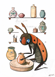 The Scarab Potter