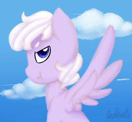 .:AT:. Cloud Fluff Painting