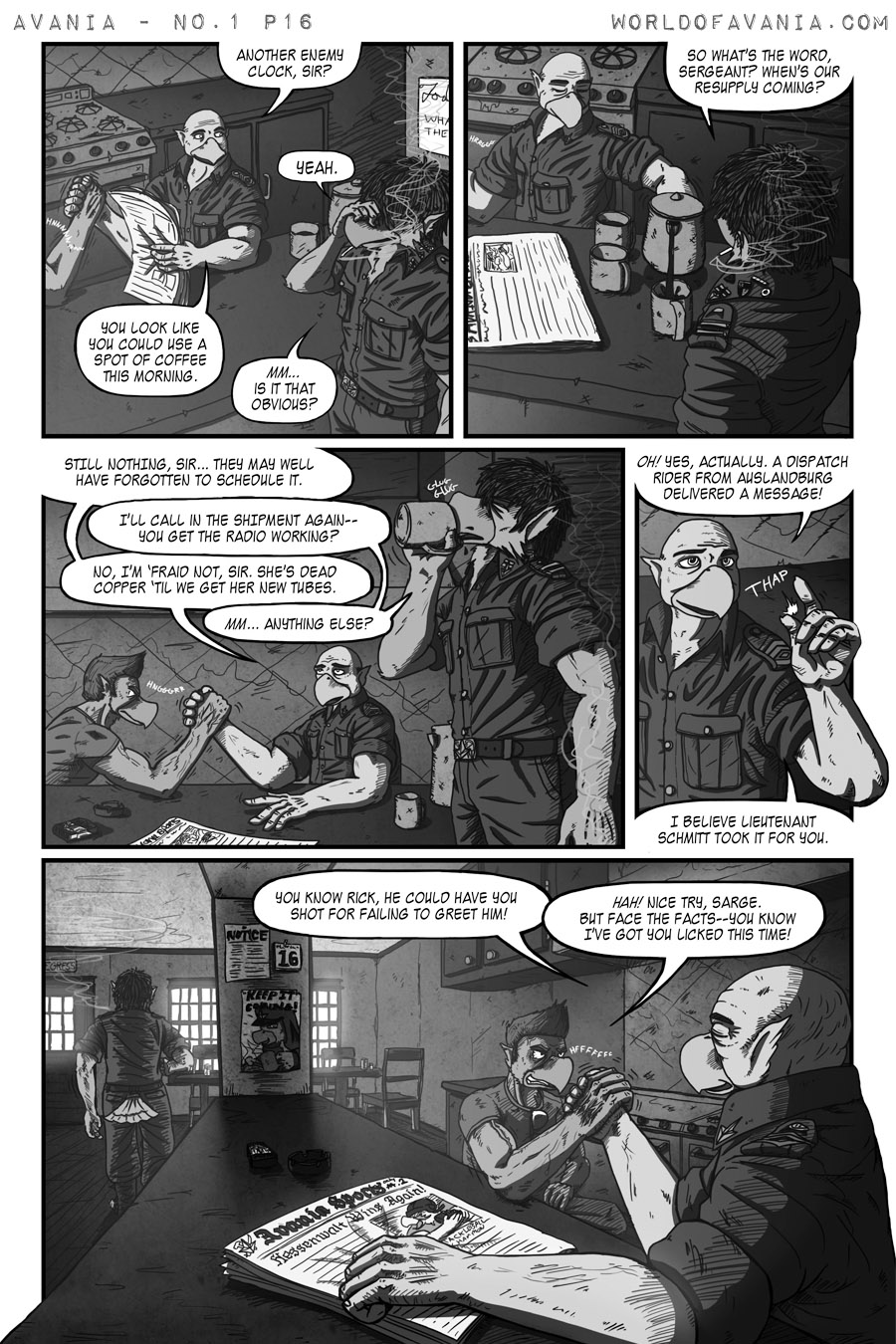Avania Comic - Issue No.1, Page 16