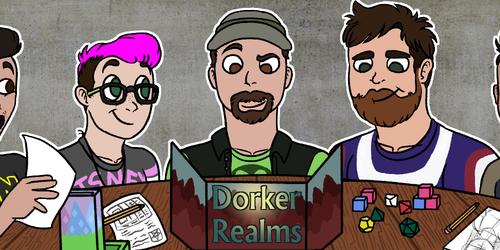 Dorker Realms Twitter Banner: