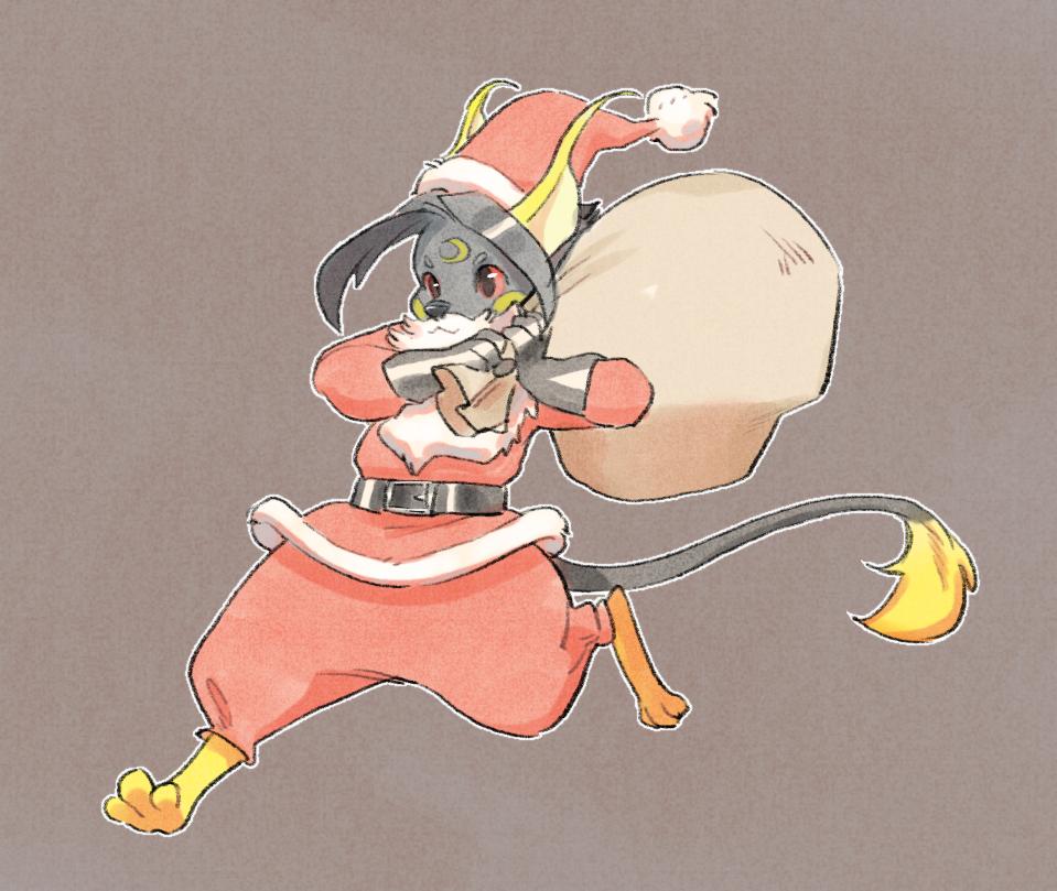 Most recent image: Kuro Santa!