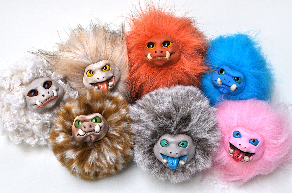 Most recent image: Hairy Monster Balls!