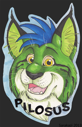 Headshot Badge - Pilosus