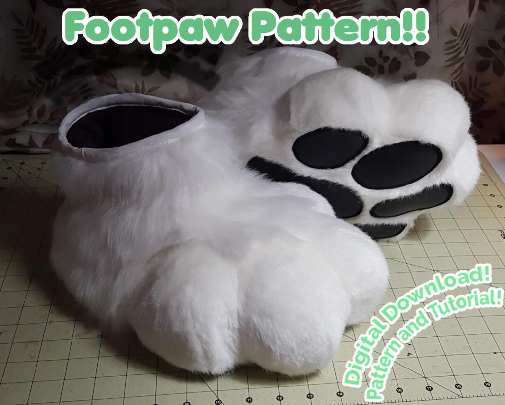 Most recent image: New Pattern & Tutorial! Plantigrade Footpaws