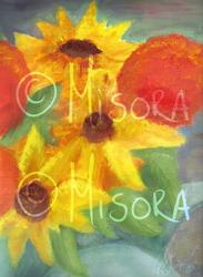 Sunflowers and Mums