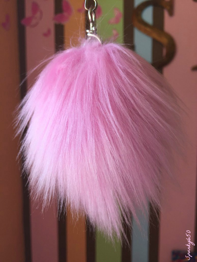 Most recent image: Pink Fluff Ball Keychain