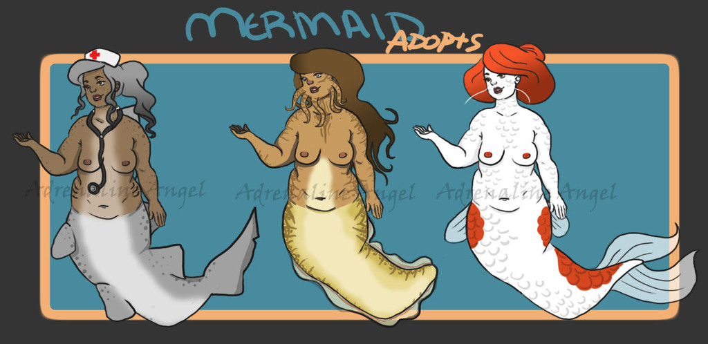 Mermaid Adopts 2 [OPEN]