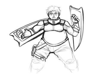 More Knight Sketch Stuff