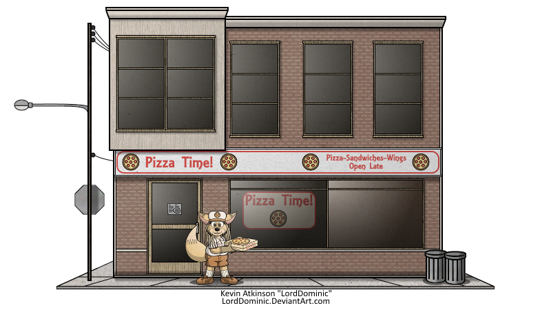 """The """"Pizza Time"""" Restaurant (2016)"""