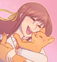 Hug that cat!!