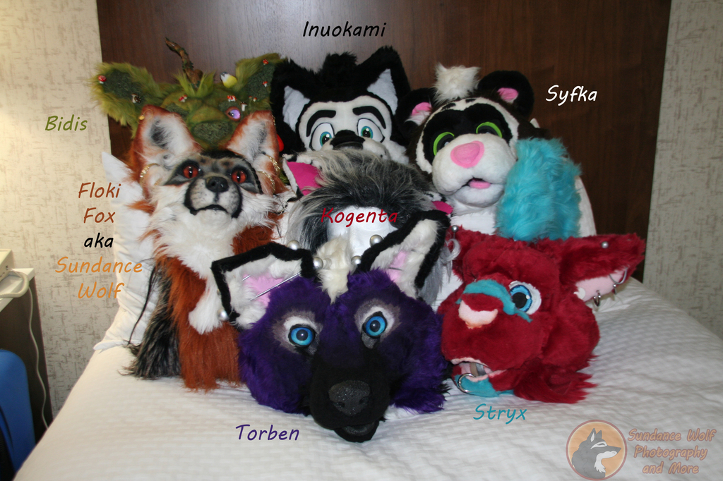 Most recent image: Anthrocon 2015 Roomies Heads