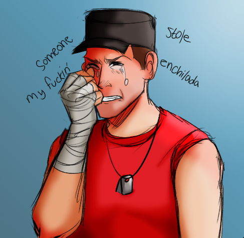 Crying Scout