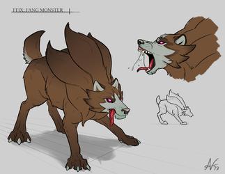 FFIX- Fang Monster