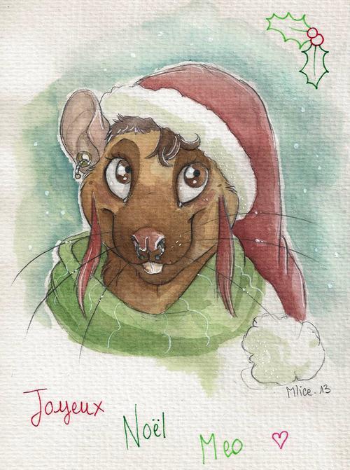 [Gift art] Merry Christmas Meoxie !