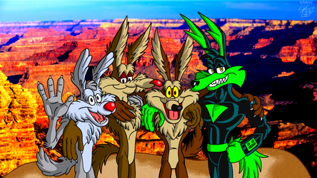 The 3 Coyotes and Ralph