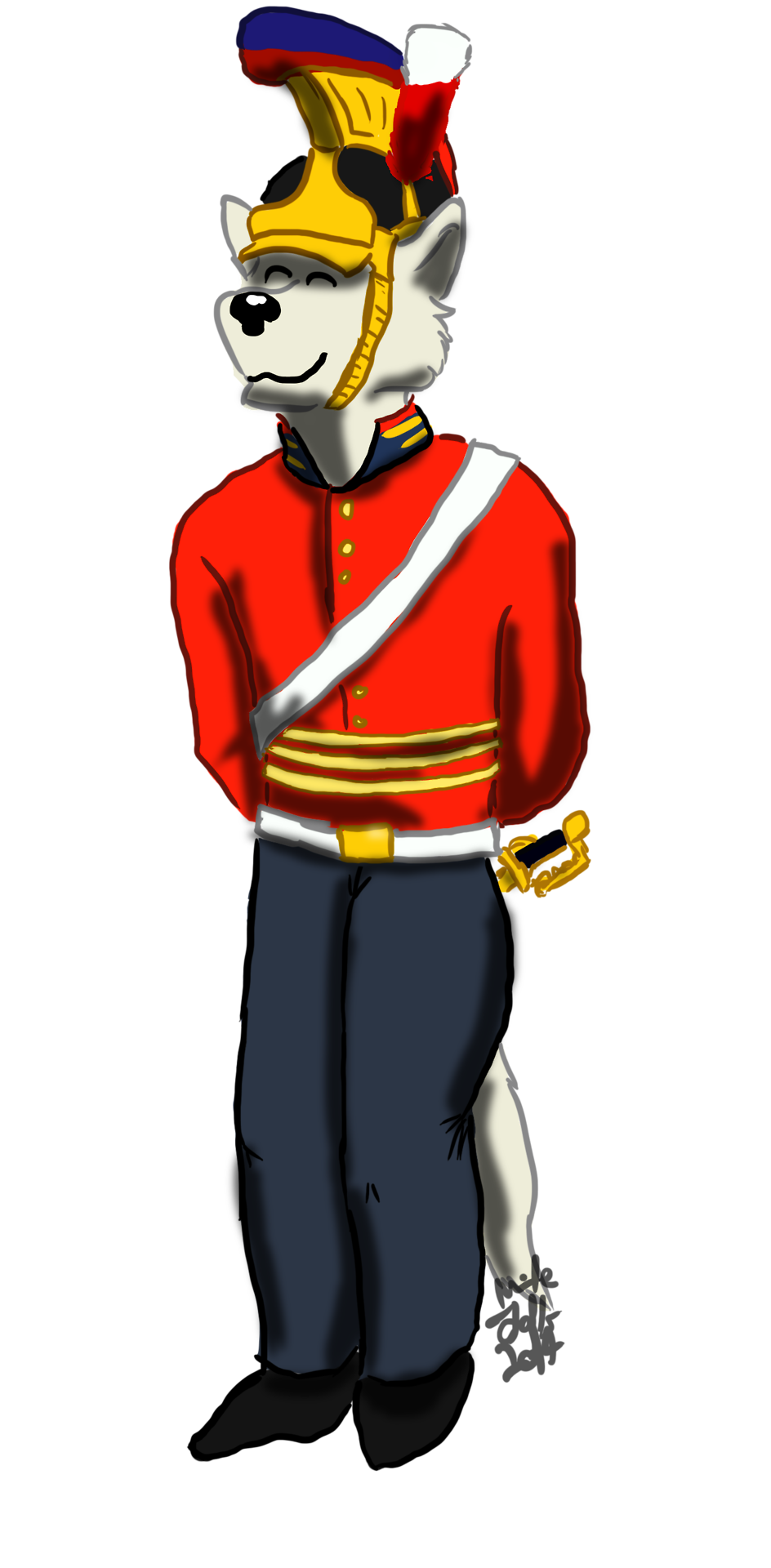 Most recent image: Cavalry officer