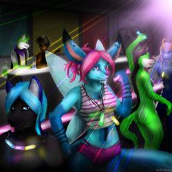 Under the Laser Lights [Comm]