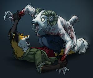 Zombie Goattack!