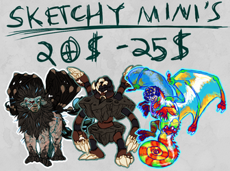 [C] Sketchy Mini's - 5/5 Slots Open!