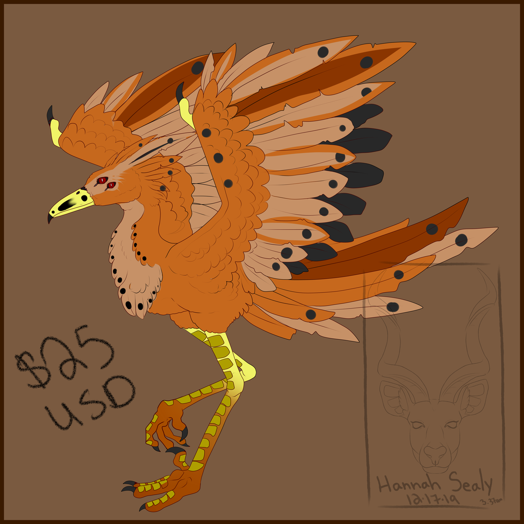 Bird Adopt - $25 USD - OPEN