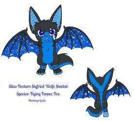 Original Character: Silas - Markings Guide