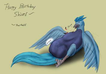 Happy Birthday Shiver!