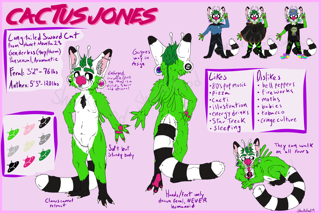 Cactus Jones Reference