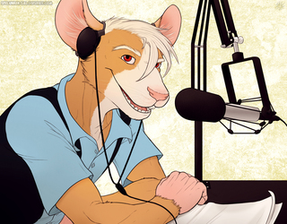 Eaite, Furocity's Radio Host for Classic Rock!