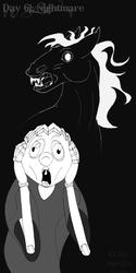 Daily Sketch 61 - Nightmare