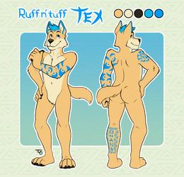 Commission - Ruff n' Tuff Tex