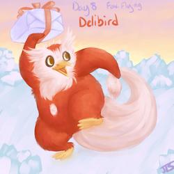Delibird - Pokeddex 2013
