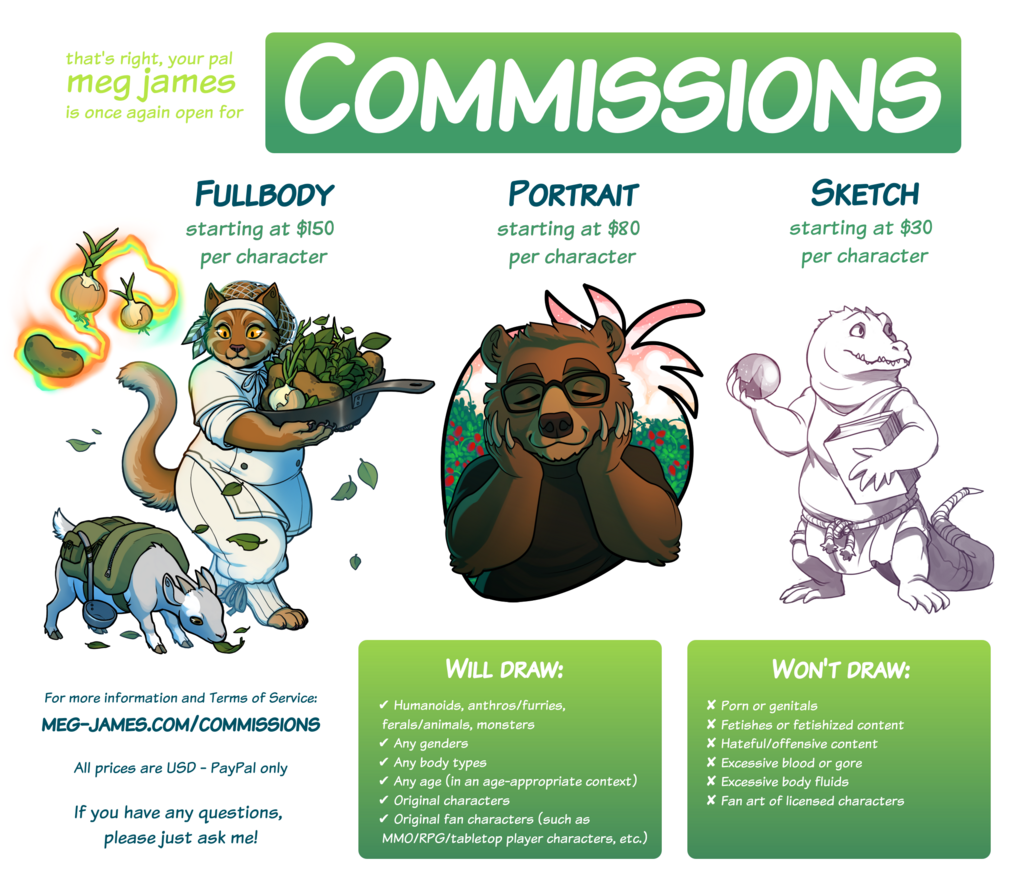 Featured image: Commissions open! (updated 12/11/20)