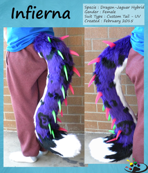 Infierna, the Draguar's Tail by SparkleKreations