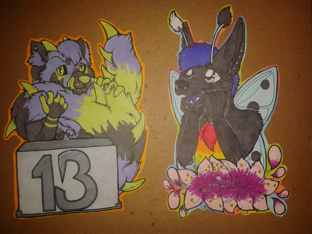 FWA Badge Preorders - Deluxe Size 3/3