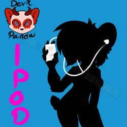 Devil Panda Ipod