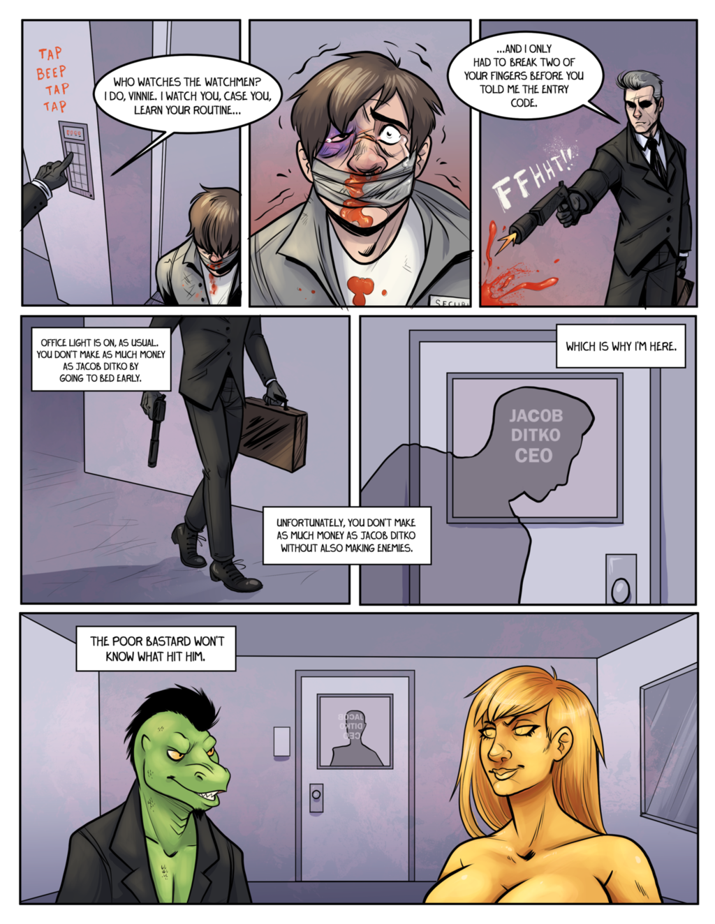 Most recent image: 'Komos & Goldie' page by Bubbeh (2)
