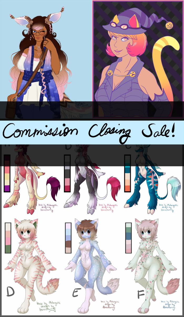 Most recent image: Commission closing sale!