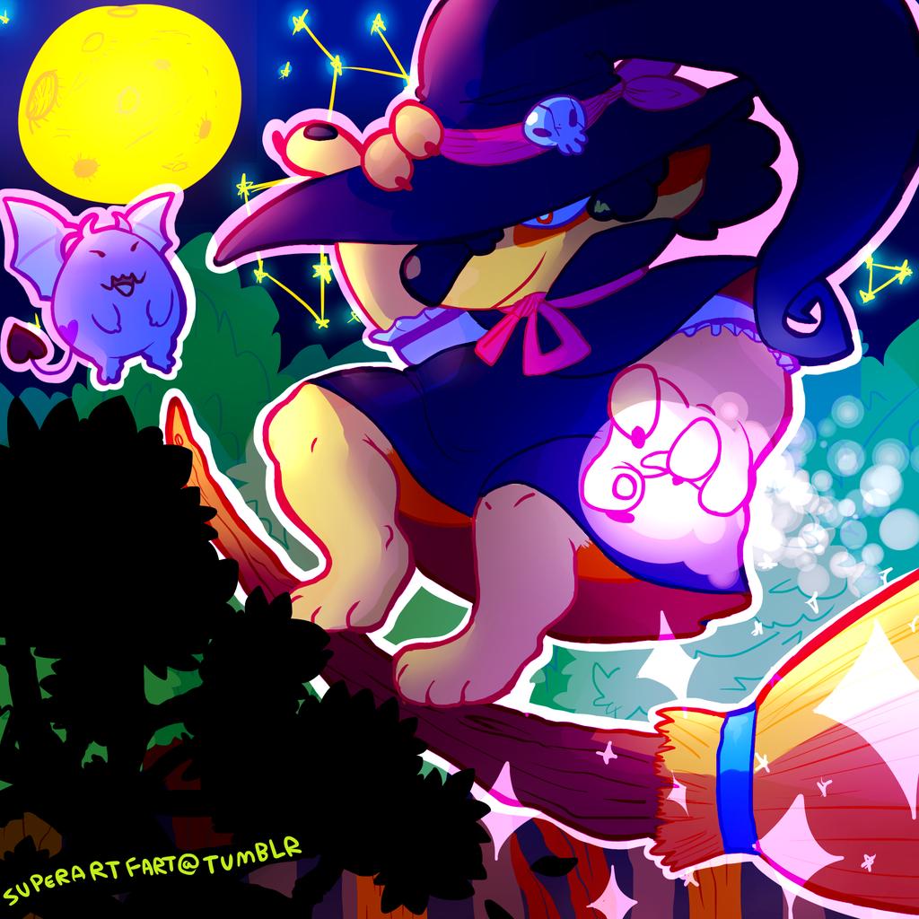 Moonlight Surfer