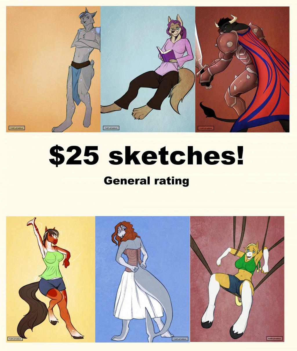 Sketches open!