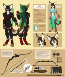 Jera Reference Sheet