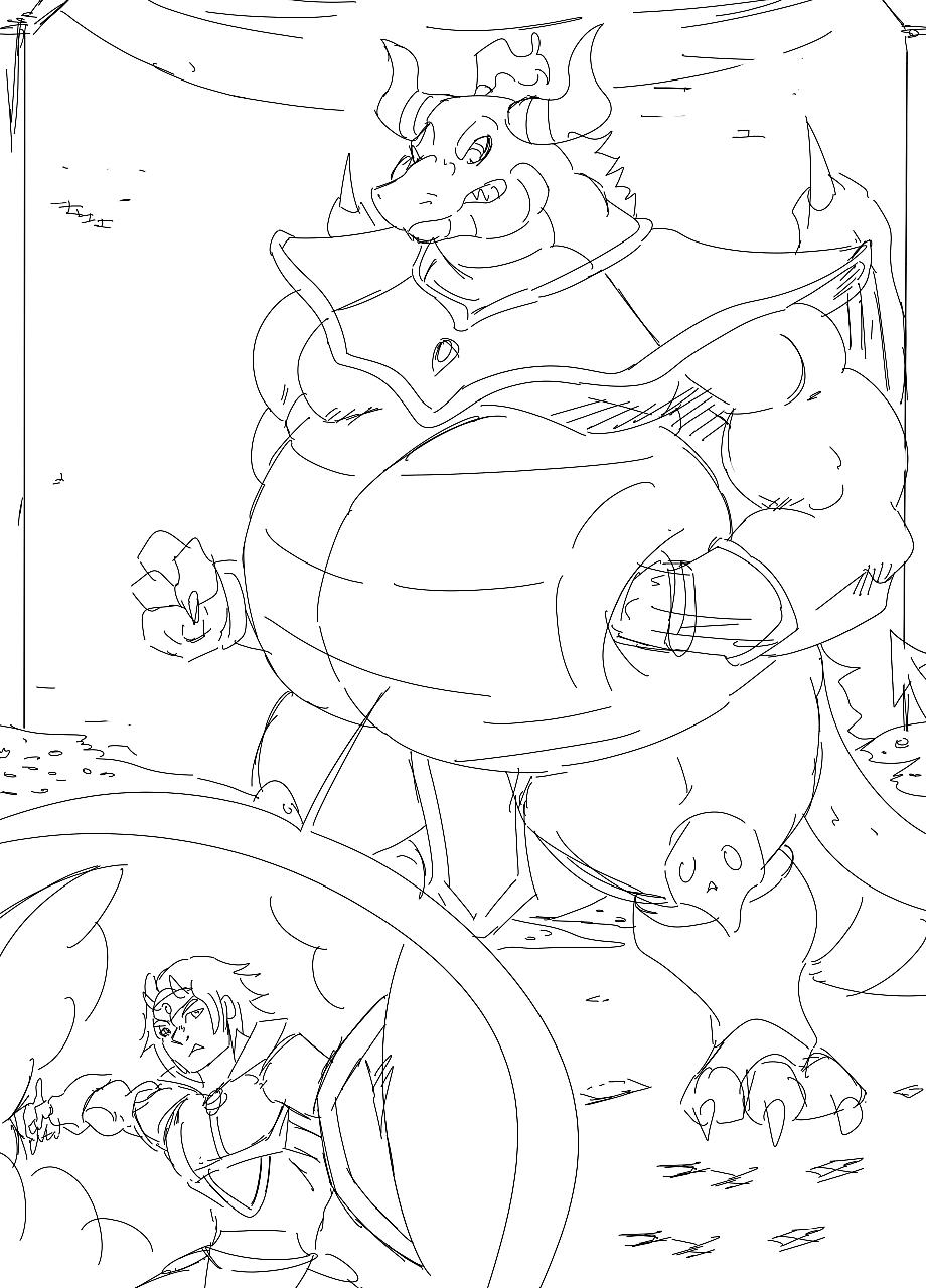 Lord vs Knight ~ Mid-Battle
