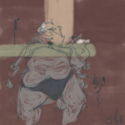 Sketch: Lateral Fatting