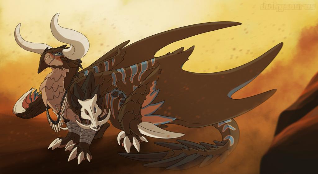 RPG Dragons Barbarian
