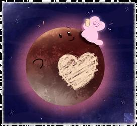 I Drew On Pluto